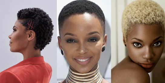 10 Idees De Coiffures Pour Cheveux Courts Afro A Adopter
