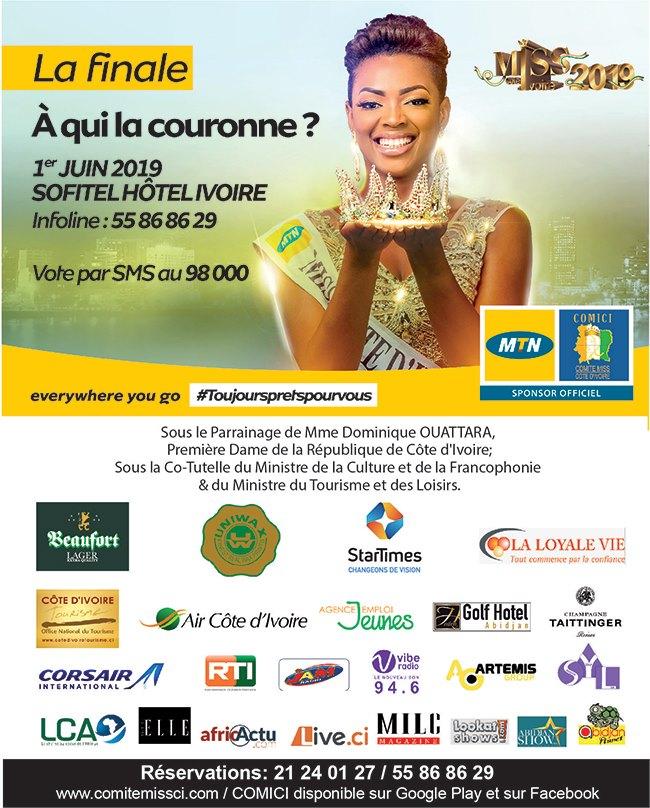 Finale Miss Côte d'Ivoire 2019