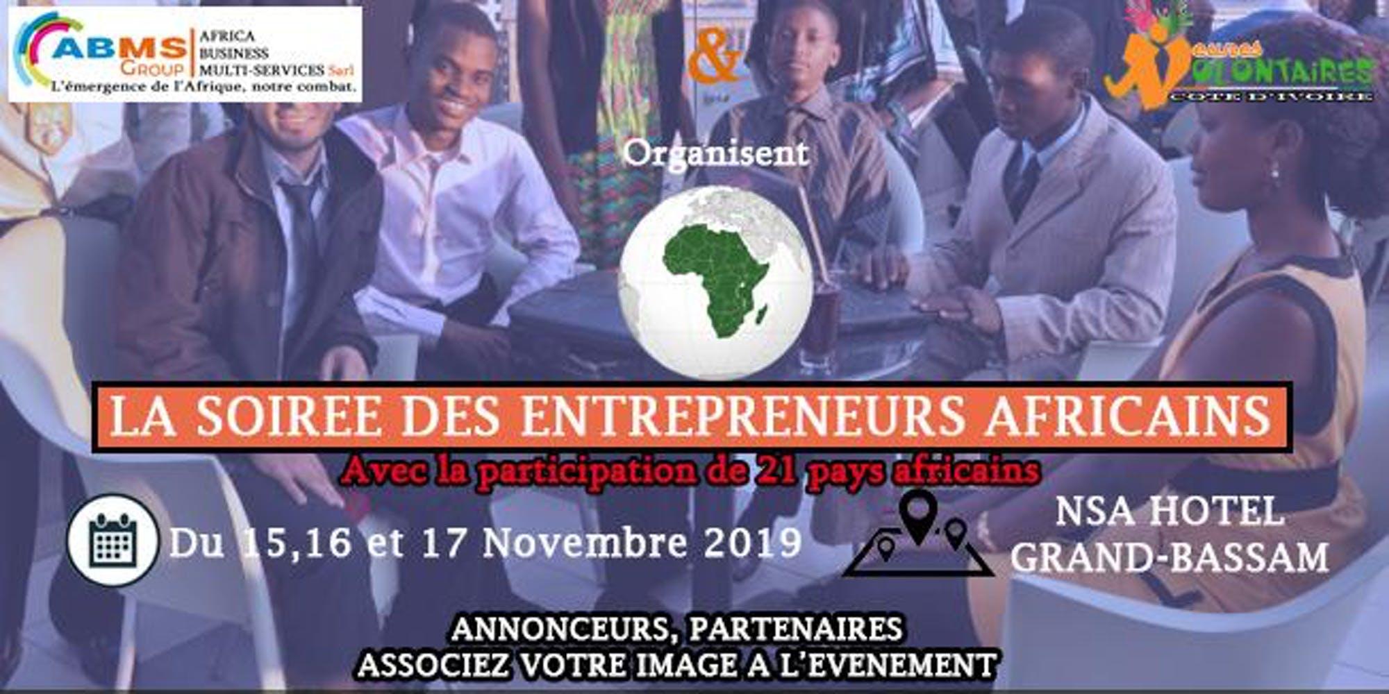 LA SOIRÉE DES ENTREPRENEURS AFRICAINS