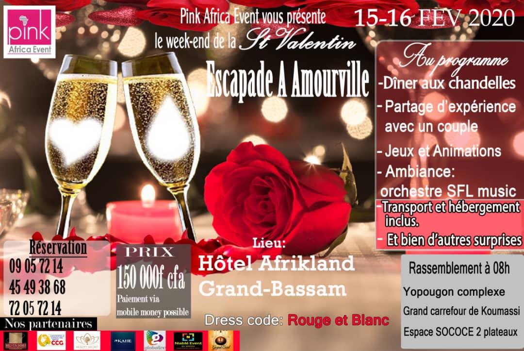 Le week-end de la Saint Valentin, escapade à Amourville