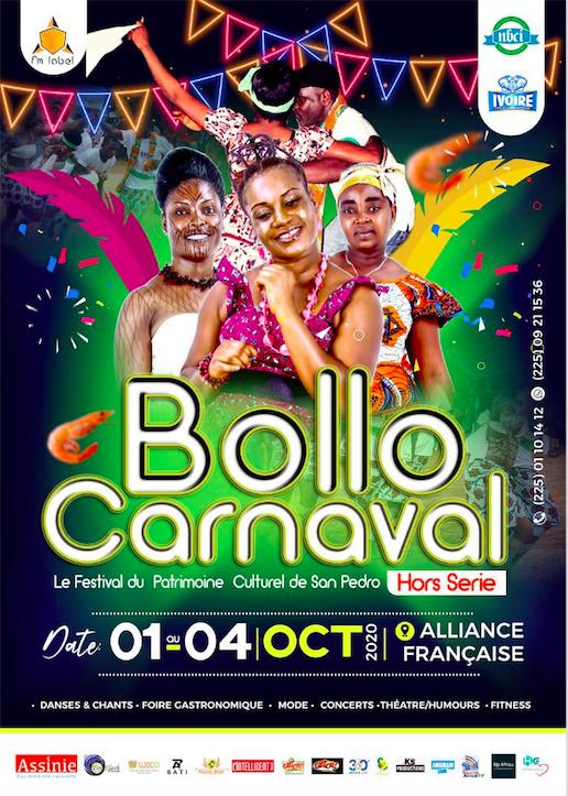 Bollo carnaval : le festival du patrimoine culturel de San-pedro