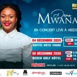 Dena Mwana en concert live à Abidjan