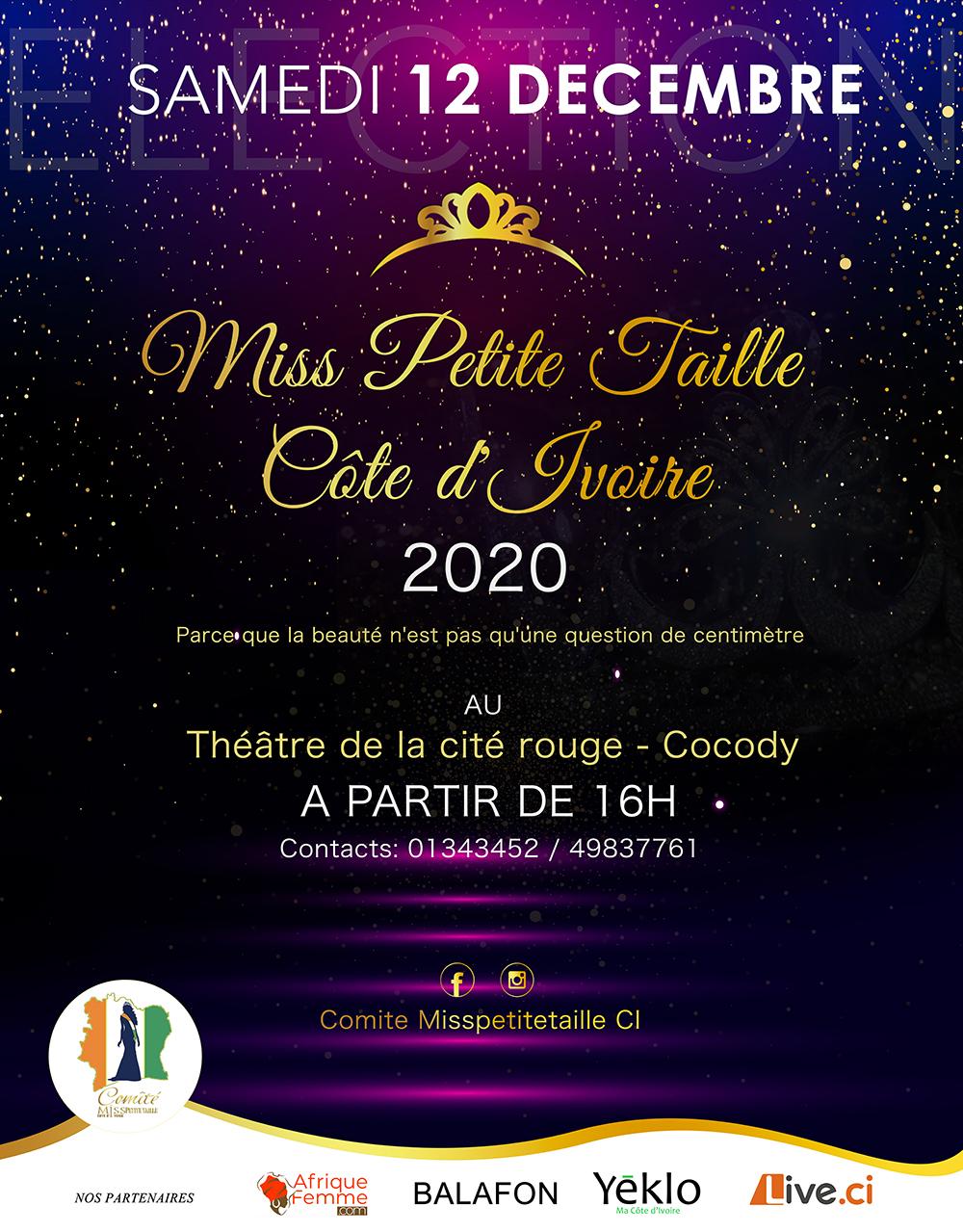 Miss Petite Taille Côte d'Ivoire 2020
