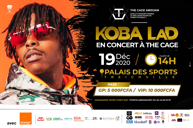 Kobe Lad, en concert à the Cage