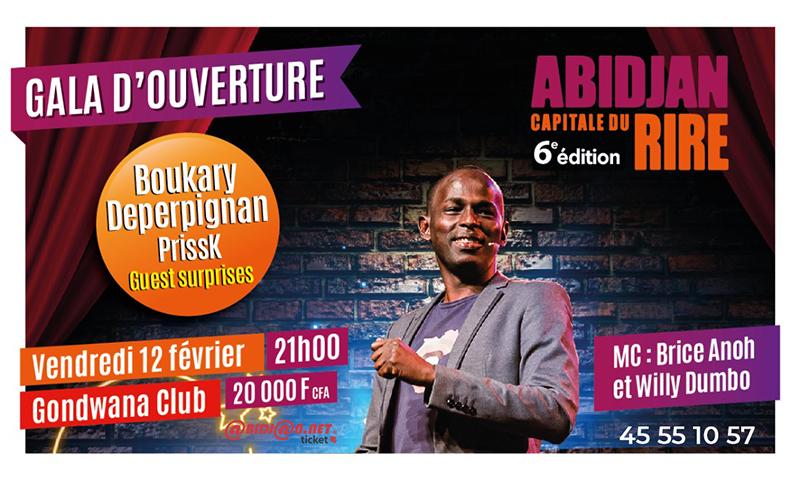 Abidjan Capitale Du Rire: Gala D'ouverture