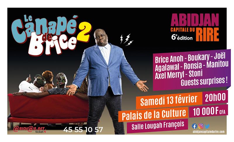 Abidjan Capitale Du Rire: Le canapé de Brice 2