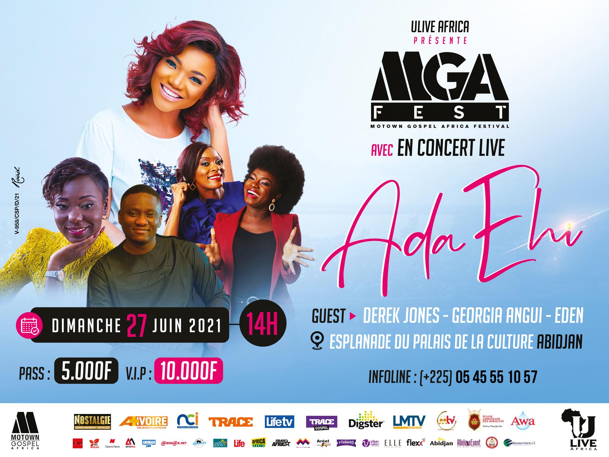 Ada Ehi en concert live