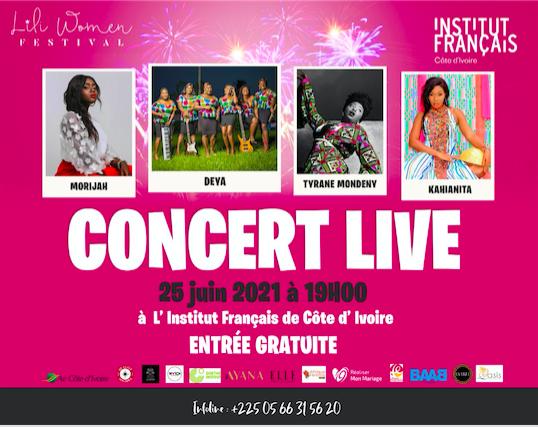 Lili Woman Festival, concert live