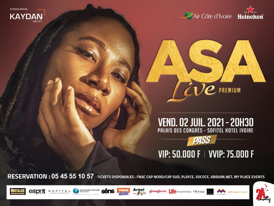 ASA en concert live premium