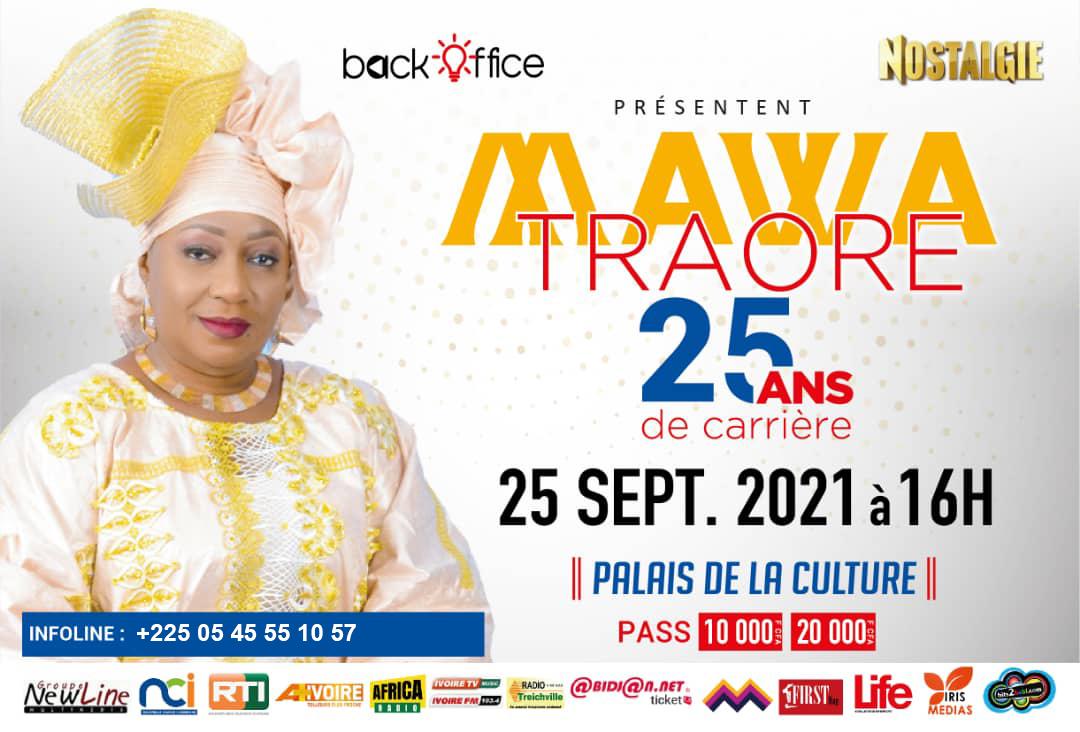 Mawa Traoré, 25 ans de carrière