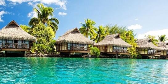 Les vacances paradisiaques du couple Obama en Polynésie française