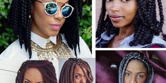 Inspiration coiffure: les braids courtes