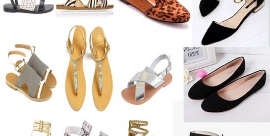 Chaussures: compensées, plates, lacets... les tendances