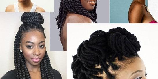 La laine, le nouveau coup de cœur des coiffures afro