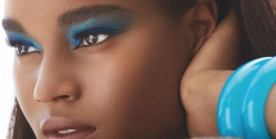 Maquillage : La vie en bleu