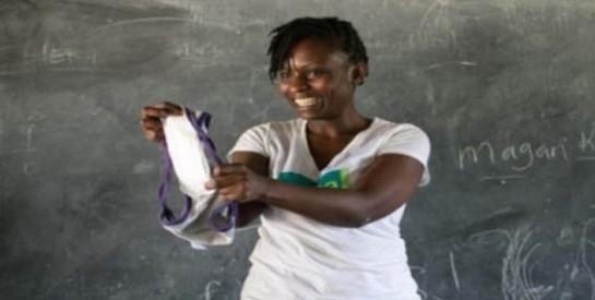 Hygiène féminine et l`avenir scolaire des jeunes filles