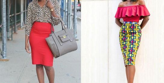 Comment bien porter une jupe crayon? Des idées pour un look canon