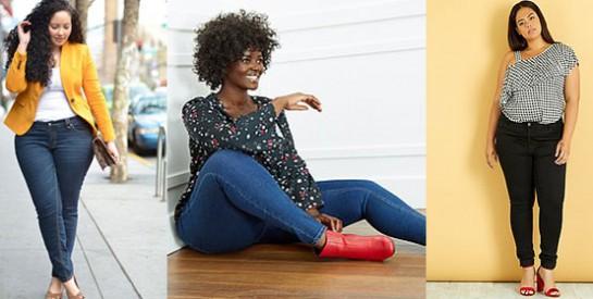 Comment choisir un skinny jeans quand on est ronde?