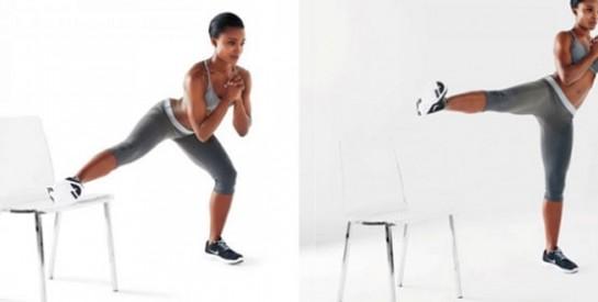 3 manières de travailler vos muscles avec un chaise