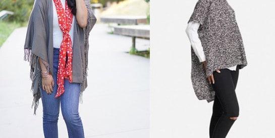 Le poncho: des idées pour le porter avec élégance