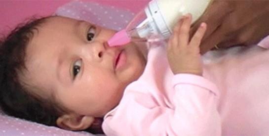 Que faire lorsque bébé a le nez bouché?