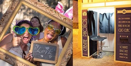Un photomaton de mariage: une idée originale pour bluffer vos invités