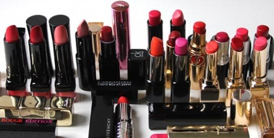 Le choix du bon rouge à lèvres