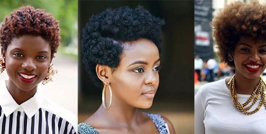 9 coiffures faciles et simples pour cheveux crépus