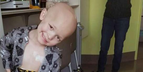 Garrett a écrit sa propre nécrologie avant sa mort à 5 ans d`un cancer