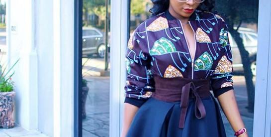 10 manières de s`habiller différemment avec un haut en pagne