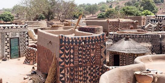 À Tiébélé, chaque maison est une oeuvre d`art