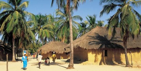 La Casamance au Sénégal, plus belle région d`Afrique de l`ouest