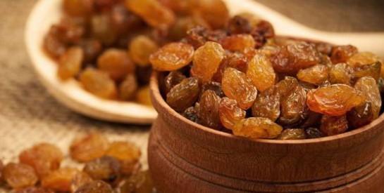 Raisins secs : tous les avantages