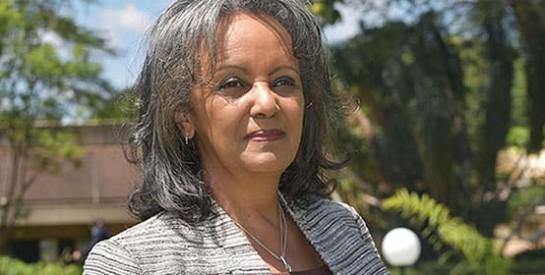 Une femme désignée pour la première fois présidente de l`Ethiopie