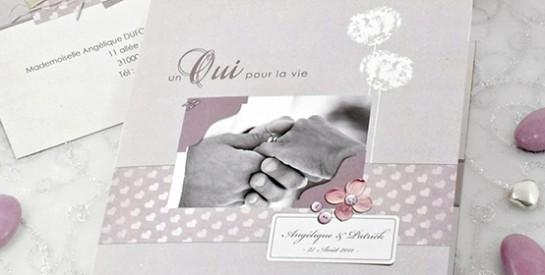 Une invitation de mariage : que faire?
