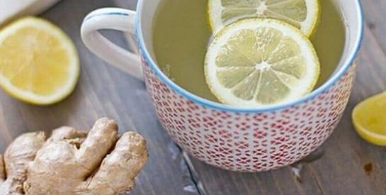 Remède au gingembreet citron pour calmer les douleurs abdominales