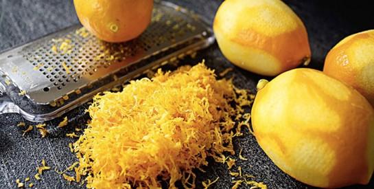 Le zeste de citron efficace contre l`inflammation et la douleur chronique