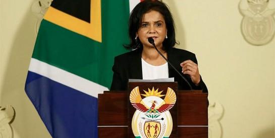 Shamila Batohi première femme procureure générale en Afrique du Sud