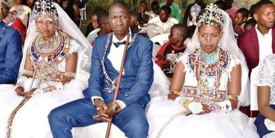 Un Kenyan épouse deux femmes le même jour