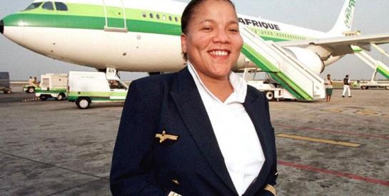 Adine Ossebi, l'une des rares femmes pilotes d'Afrique