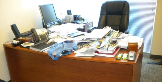 Votre bureau est mal rangé ? Vous pourriez être perçu comme négligent, désagréable et... névrosé