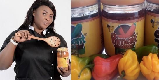 La restauratriceMya Moda présente les vertus des PIMENTS MAMA MYA made in Côte d'Ivoire