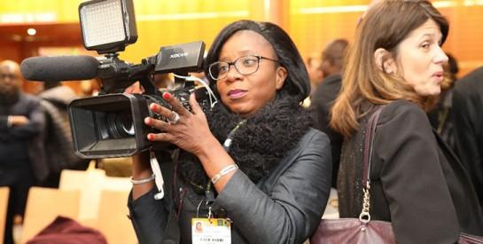 M'ma Camara / journaliste reporter d'images : Il n'y a pas mieux que vous-même pour bien sculpter votre art