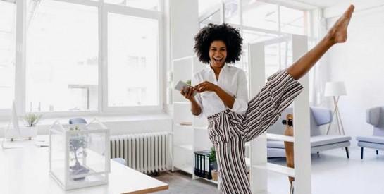 Voici 3 exercices faciles et discrets à faire au bureau