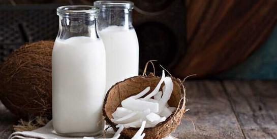Le lait de coco pour stimuler la croissance des cheveux