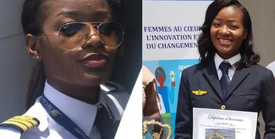 Aya Gertrude Konan : d'hôtesse de l'air, elle devient Pilote de Ligne Civile