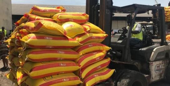 Destruction de riz avarié en Côte d'Ivoire