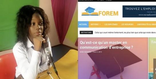 Edwige Doumbia lance la première plateforme qui oriente les élèves et étudiants de Côte d'ivoire