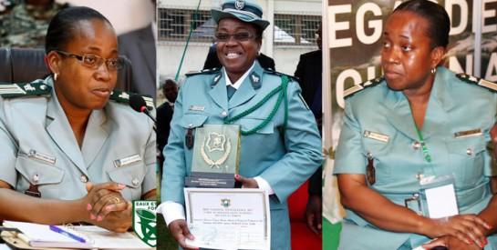 Lt. Colonel Mailly Zouzou Elvire-Joëlle, première femme chef de corps des agents des eaux et forêts
