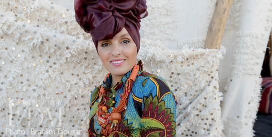 Mode : quand le pagne est mélangé aux accessoires traditionnels du Maroc